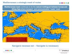 Światłowodowy szlak śródziemnomorski