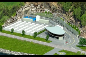 Lefdal-Mine Datacenter w Norwegii