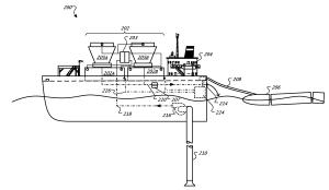 Patent Google'a na pływające centrum danych napędzane falami