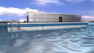 Barka Nautilus Data z pływającym data center