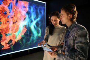 Laboratorium Wizualizacji Danych w Centrum Technologii ICM