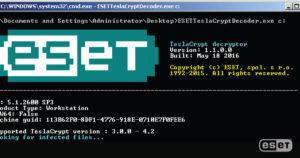 Twoje dane zaszyfrował TeslaCrypt ESET ma dla Ciebie rozwiązanie! - grafika